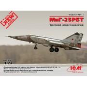 72172 ICM МиГ-25 РБТ, Советский самолет-разведчик, 1/72