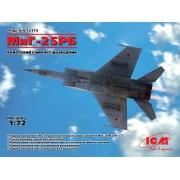 72173 ICM МиГ-25РБ, Советский самолет-разведчик, 1/72