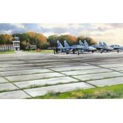 72214 ICM Советские плиты аэродромного покрытия ПАГ-14, 1/72