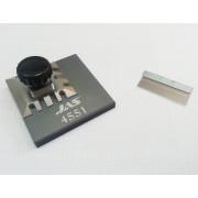 4551 JAS Зажим для работы с фототравлением, 59 х 59 мм