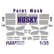KAV M35 078 KAV-models Окрасочная маска для модели Husky TSV (Meng), 1/35