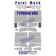 KAV M35 094 KAV-models Окрасочная маска на Тайфун ВДВ К-4386 (Meng), 1/35
