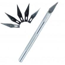 KAV T004 KAV-models Нож модельный (6 предметов, металлическая цанга)