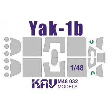 KAV M48 032 KAV-models Окрасочная маска на Яk-1Б (Accurate / Звезда), 1/48