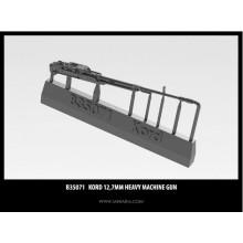 B35071 Miniarm Корд 12,7мм крупнокалиберный пулемет, 1/35