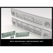 B35133 Miniarm Решетки радиатора для автомобиля Камаз-4310 (2шт + затемнители на фары), 1/35
