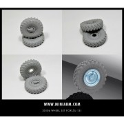B35106 Miniarm Набор колес для ЗиЛ-131 (6шт плюс запаска), 1/35
