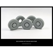 B35124 Miniarm Набор колес к автомобилю ГаЗ Тигр (с просадкой) 4шт + запаска