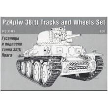 MQ35005 MSD Гусеницы и подвеска 38(t) Прага, 1/35