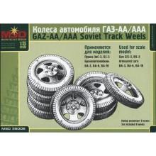 MQ35006 MSD Колеса для ГАЗ-АА/ГАЗ-ААА, 1/35