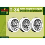 MQ35030 MSD Т-34 катки позднего выпуска, 1/35