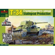 MQ3504 MSD Танк Т-34/76 Сталинградского тракторного завода (СТЗ), 1/35