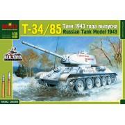 MQ3505 MSD Т-34/85 Танк 1943 года выпуска, 1/35
