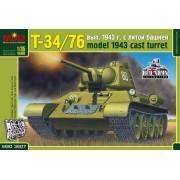 MQ3507 MSD Т-34/76 выпуска 1943 г. с литой башней, 1/35