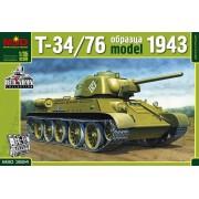 MQ3524 MSD Т-34/76 образца 1943, 1/35