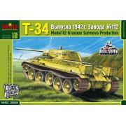 MQ3528 MSD Т-34 выпуска 1942 г. Завода N 112 Красное Сормово, 1/35