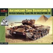 MQ3550 MSD Английский танк Валентайн IV, 1/35
