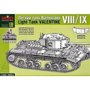 MQ3552 MSD Лёгкий танк Валентайн VIII/IX, 1/35