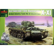 MQ3553 MSD Английский танк Валентайн X-XI, 1/35