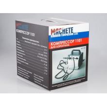 1101 Machete Компрессор с регулятором давления и ресивером 300 мл