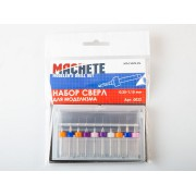 0022 Machete Набор сверл для моделизма 0.25-1.15 мм (10 шт.)