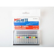 0023 Machete Набор сверл для моделизма 0.6-1.5 мм (10 шт.)