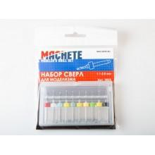 0024 Machete Набор сверл для моделизма 1.1-2.0 мм (10 шт.)