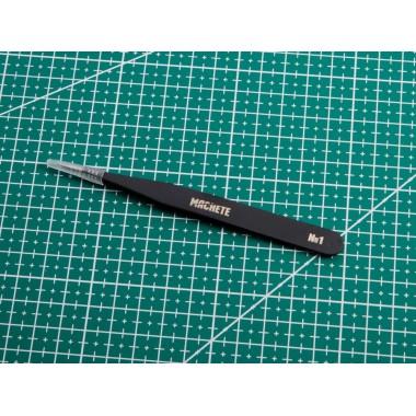 0081 Machete Пинцет N 1 прямой, 123 мм