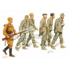 MB3517 Master Box Фигуры Немецкие военнопленные 1944г., 1/35