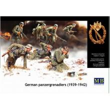 MB3518 Master Box Фигуры Немецкие панцергренадеры, 1939-1942 гг., 1/35