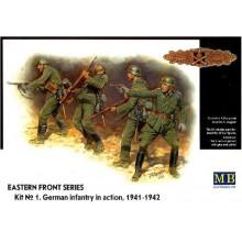 MB3522 Master Box Фигуры Немецкая пехота, 1941-1942, 1/35