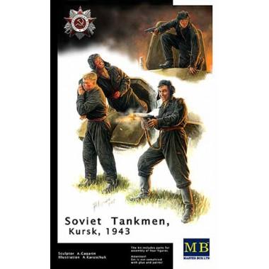 MB3532 Master Box Фигуры Советские танкисты. Курск 1943г., 1/35