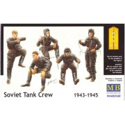 MB3568 Master Box Фигуры Советский танковый экипаж (1943-45г), 1/35