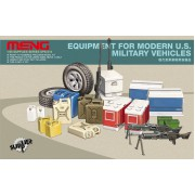 SPS-014 MENG Equipment For Modern U.S. Military Vehicles, 1/35