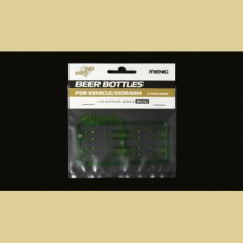 SPS-011 MENG Beer Bottles for Vehicle/Diorama, 1/35