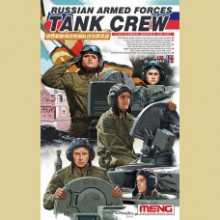 HS-007 Meng RUSSIAN ARMED FORCES TANK CREW, 1/35