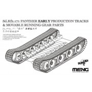 SPS-057 Meng German Medium Tank Sd.Kfz.171 Parther Early Production Tracks&Movable Runninq Gear Parts, 1/35