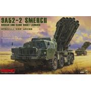 SS-009 MENG RUSSIAN LONG-RANGE ROCKET LAUNCHER 9A52-2 SMERCH, 1/35