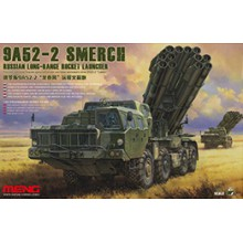 SS-009 MENG RUSSIAN LONG-RANGE ROCKET LAUNCHER 9A52-2 SMERCH, 1/35