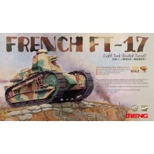TS-011 MENG French FT-17 Light Tank (Riveted Turret), 1/35