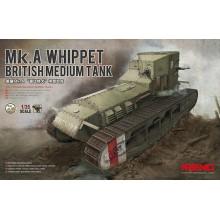 TS-021 Meng BRITISH MEDIUM TANK Mk.A WHIPPET, 1/35