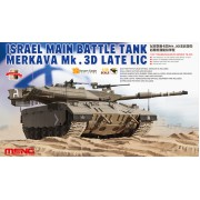 TS-025 Meng ISRAEL MAIN BATTLE TANK MERKAVA Mk.3D LATE LIC, 1/35