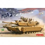 TS-026 MENG U.S. MAIN BATTLE TANK M1A2 SEP ABRAMS TUSK I/TUSK II, 1/35