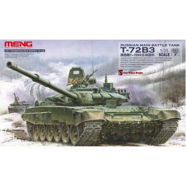TS-028 MENG Russian Main Battle Tank T-72B3, 1/35