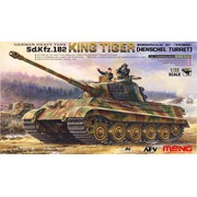 TS-031 Meng German Heavy Tank Sd.Kfz.182 King Tiger (Henschel Turret), 1/35