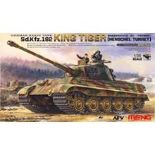 TS-031 Meng German Heavy Tank Sd.Kfz.182 King Tiger (Henschel Turret), 1/35