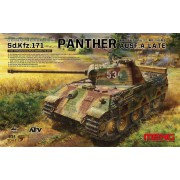 TS-035 Meng German Medium tank Sd.Kfz.171 Panther Ausf.A LATE, 1/35