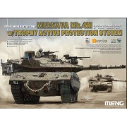 TS-036 Meng Israel Main Battle Tank Merkava Mk.4m W/Trophy Active Protection System, 1/35