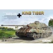 TS-037 Meng German Heavy Tank Sd.Kfz.182 King Tiger (Porsche Turret), 1/35