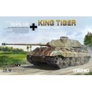 TS-037 Meng German Heavy Tank Sd.Kfz.182 King Tiger (Porsche Turret), 1/35